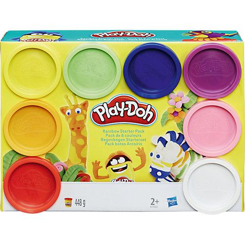 Набор пластилина Play-Doh, 8 банок от Hasbro