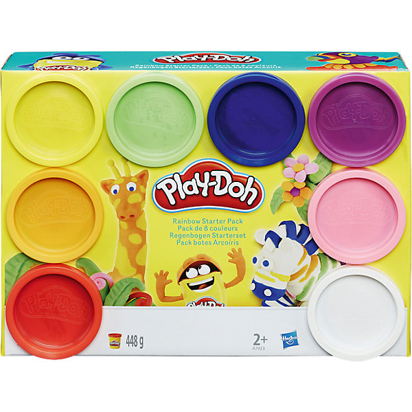 Play-Doh - Knet-Dosen 8er-Pack - Rainbow of Colors