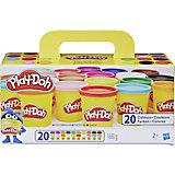 Набор пластилина Play-Doh, 20 баночек