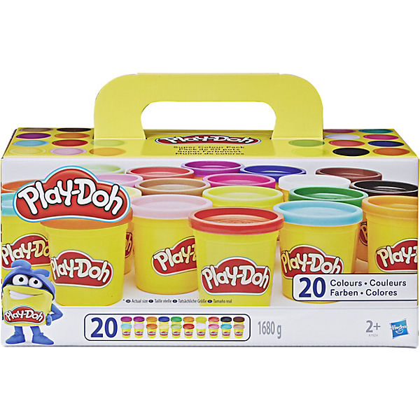 Play-Doh - Knetdosen 20er-Pack - World of Color