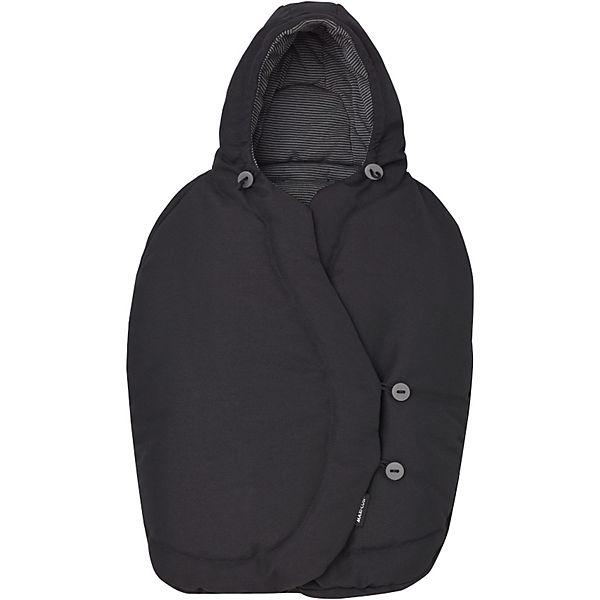 Fußsack für Pebble, black raven