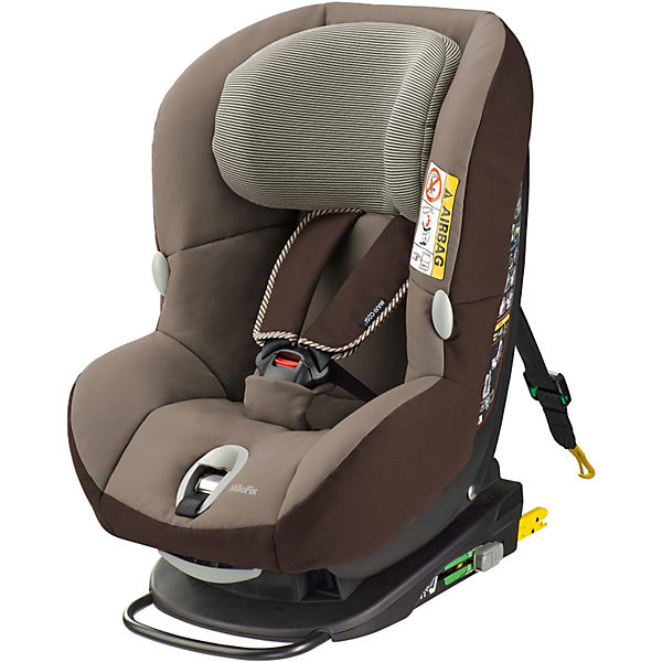 Auto-Kindersitz MiloFix, Earth Brown