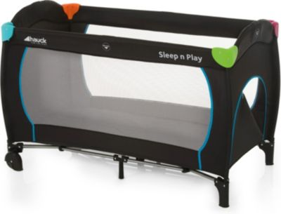 Hauck 600702 Play Plus Sleep Kindereisebett Rollen Seitlichem Reißversch Kinder