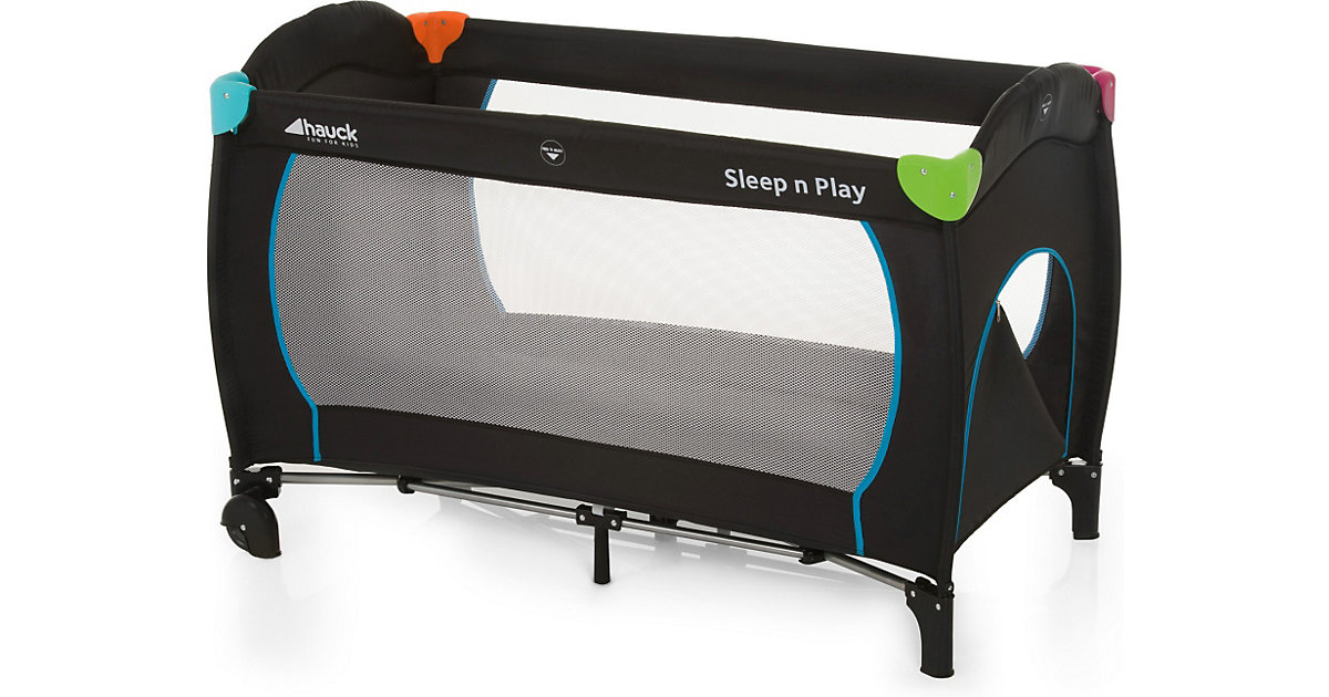 Reisebett Sleep´n Play Go Plus, multicolor black