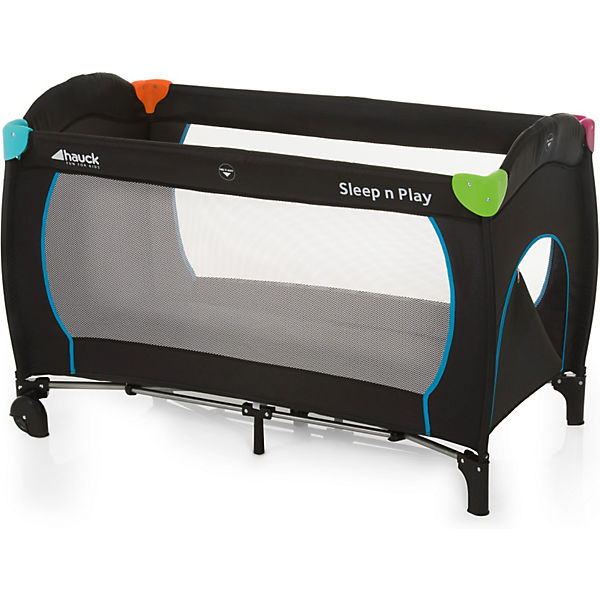 Reisebett Sleep'n Play Go Plus, multicolor black