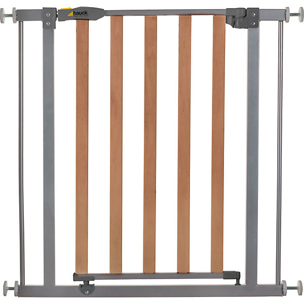 Türschutzgitter Wood Lock Safety Gate, silver