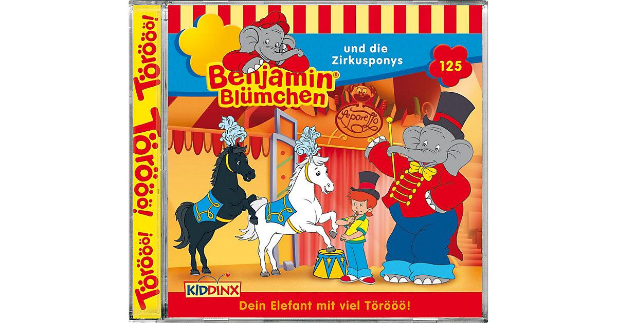 CD Benjamin Blümchen 125 und die Zirkusponys