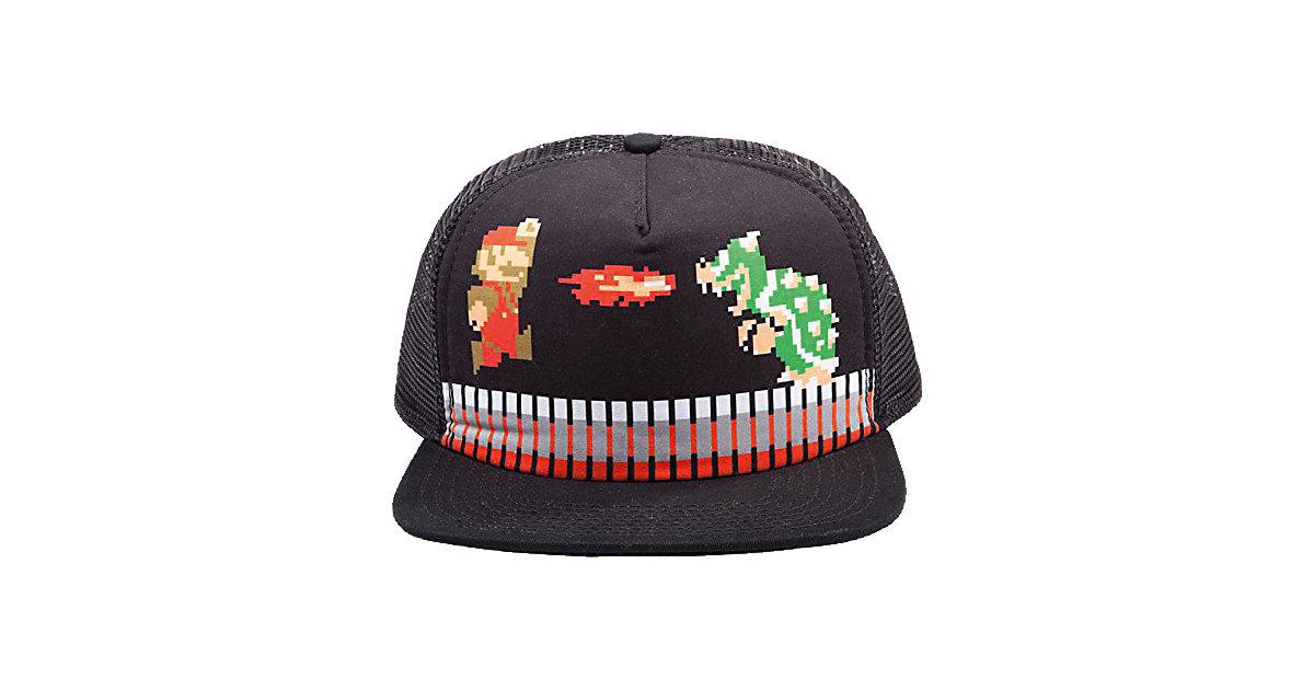 Nintendo Mario Attack Mütze - Snap Back Cap (sc...