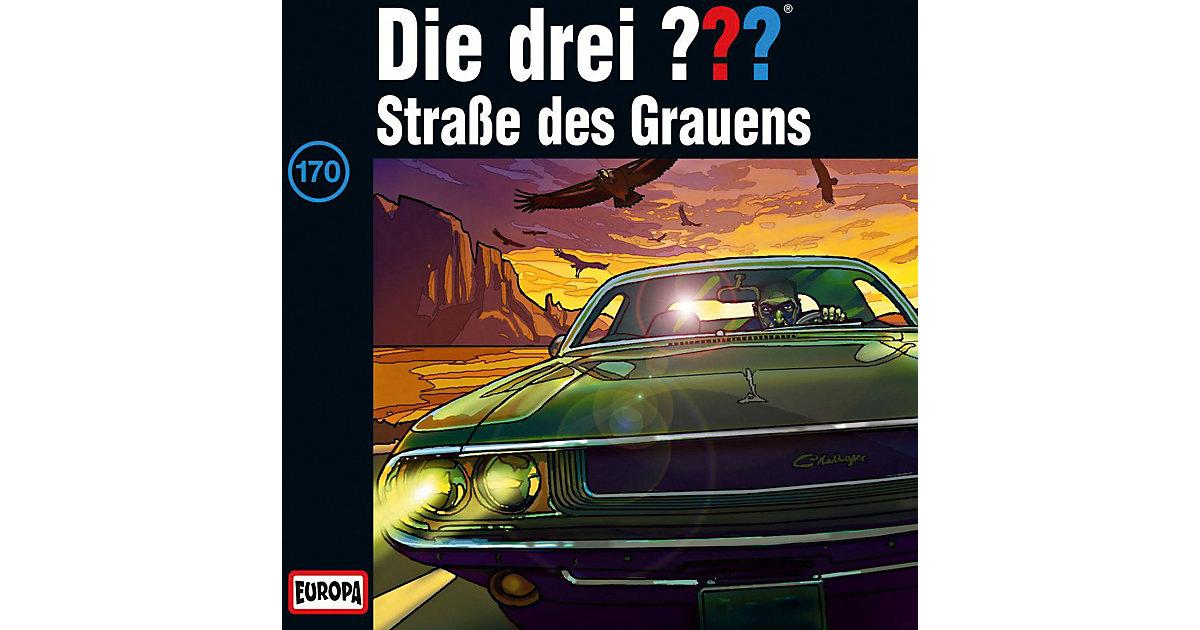 CD Die Drei ??? 170 - Straße des Grauens Hörbuch