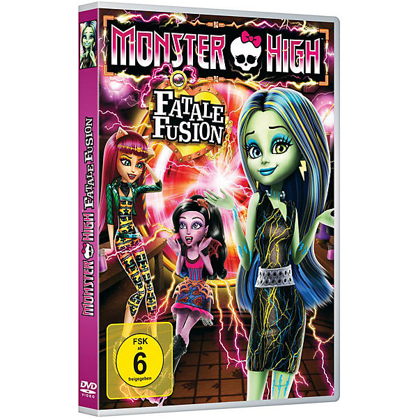 DVD Monster High - Fatale Fusion