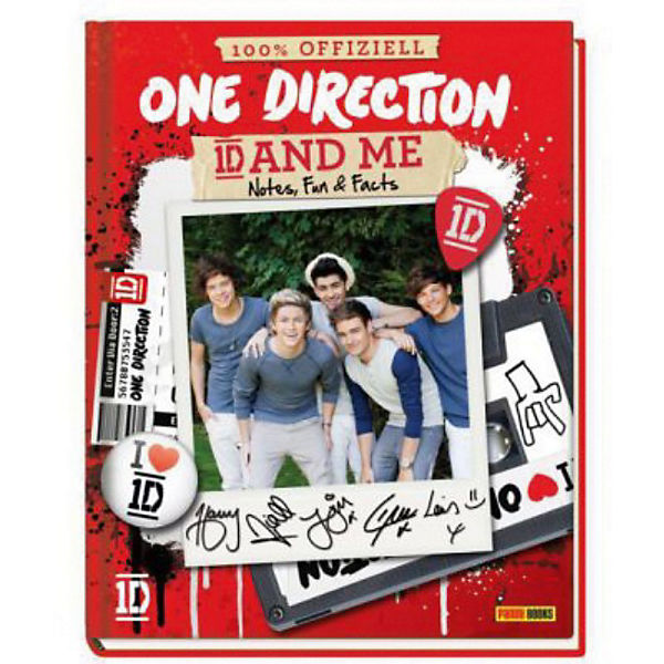 One Direction Fanbuch