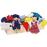 Куклы Мишки Тедди с комплектом одежды GOKI