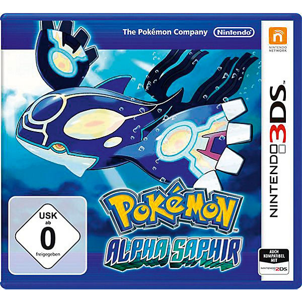 3DS Pokemon Alpha Saphir