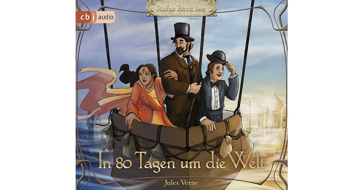 In 80 Tagen um die Welt, 3 Audio-CDs