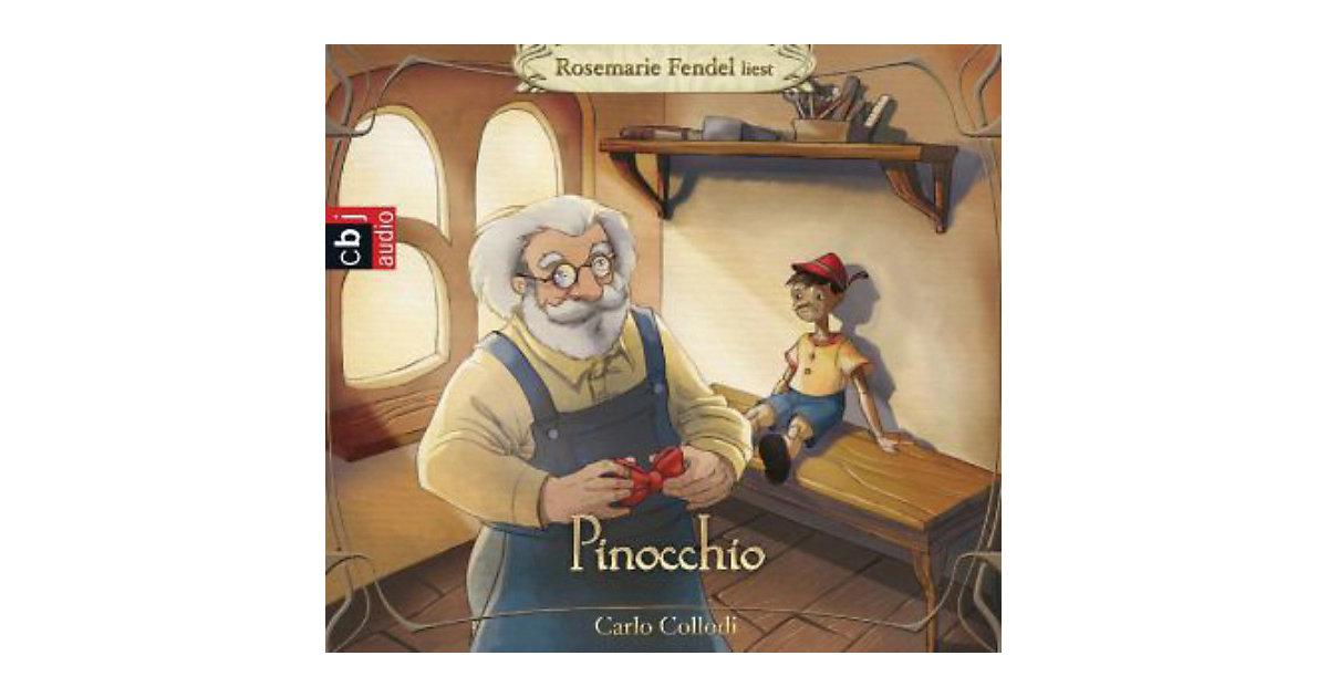 Pinocchio, 3 Audio-CDs Hörbuch