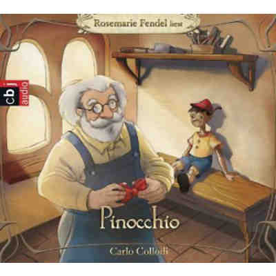 Pinocchio, 3 Audio-CDs