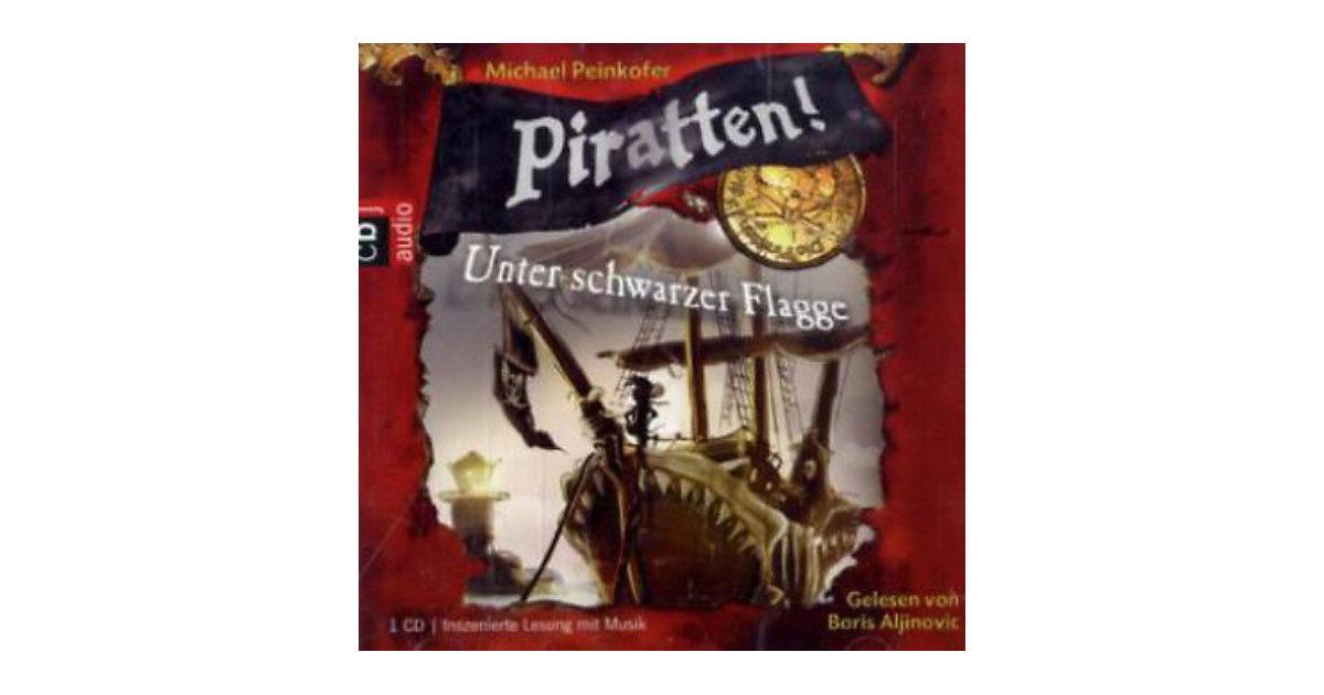 Piratten!: Unter schwarzer Flagge, 1 Audio-CD