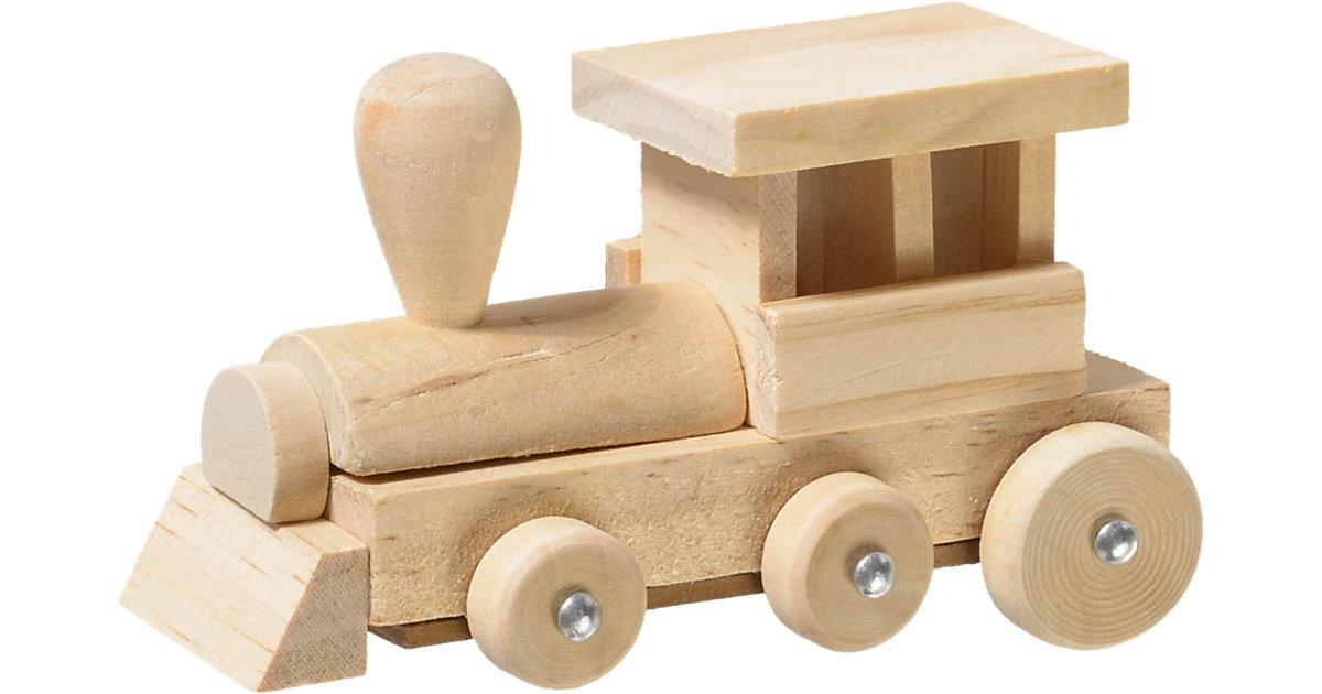 Modellbausatz Holz Eisenbahn