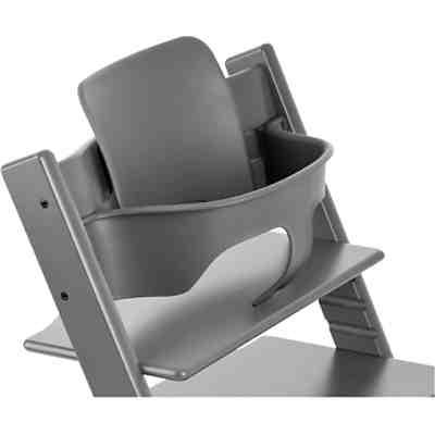 tripp trapp baby set storm grey stokke mytoys. Black Bedroom Furniture Sets. Home Design Ideas