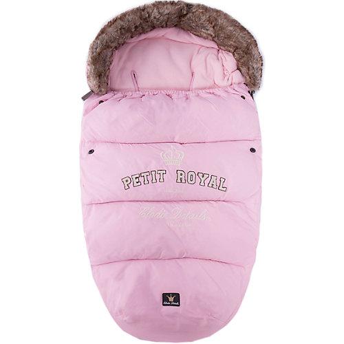 Конверт зимний с опушкой Petit Royal Pink, Elodie Details - розовый от Elodie Details