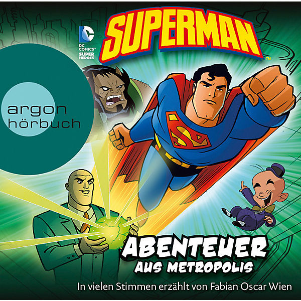 Superman, 1 Audio-CD