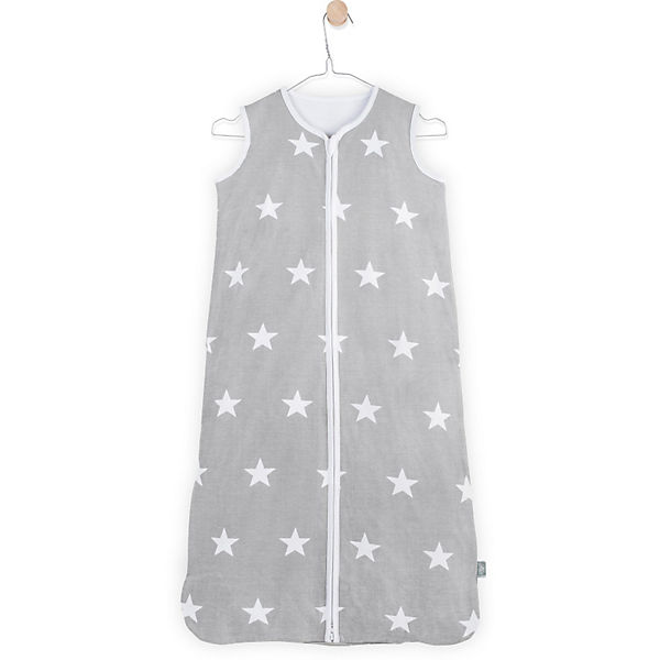 Sommer- Schlafsack, Jersey, Little star grey