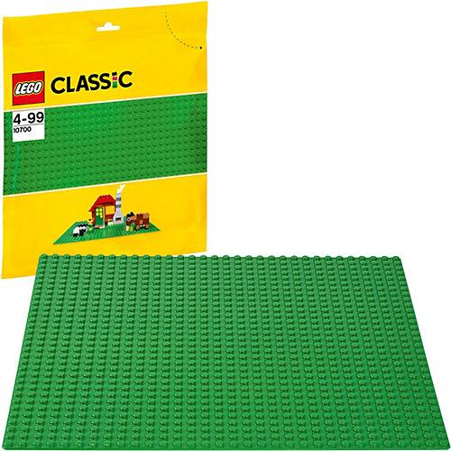 LEGO 10700: Строительная пластина зеленого цвета от LEGO