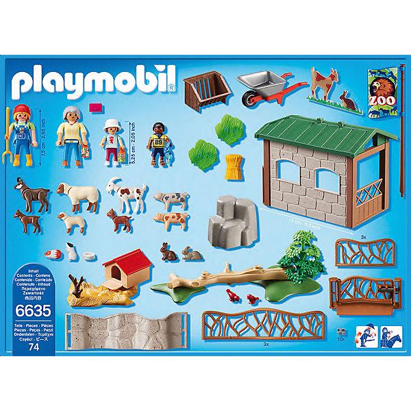 playmobil streichelzoo