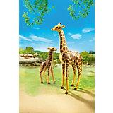 Зоопарк: Жираф со своим детенышем жирафом, PLAYMOBIL