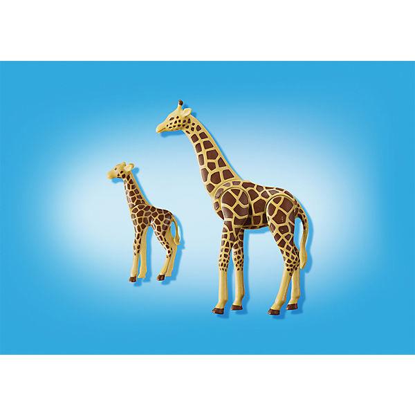 Playmobil 174 6640 Giraffe Mit Baby Playmobil 174 Mytoys