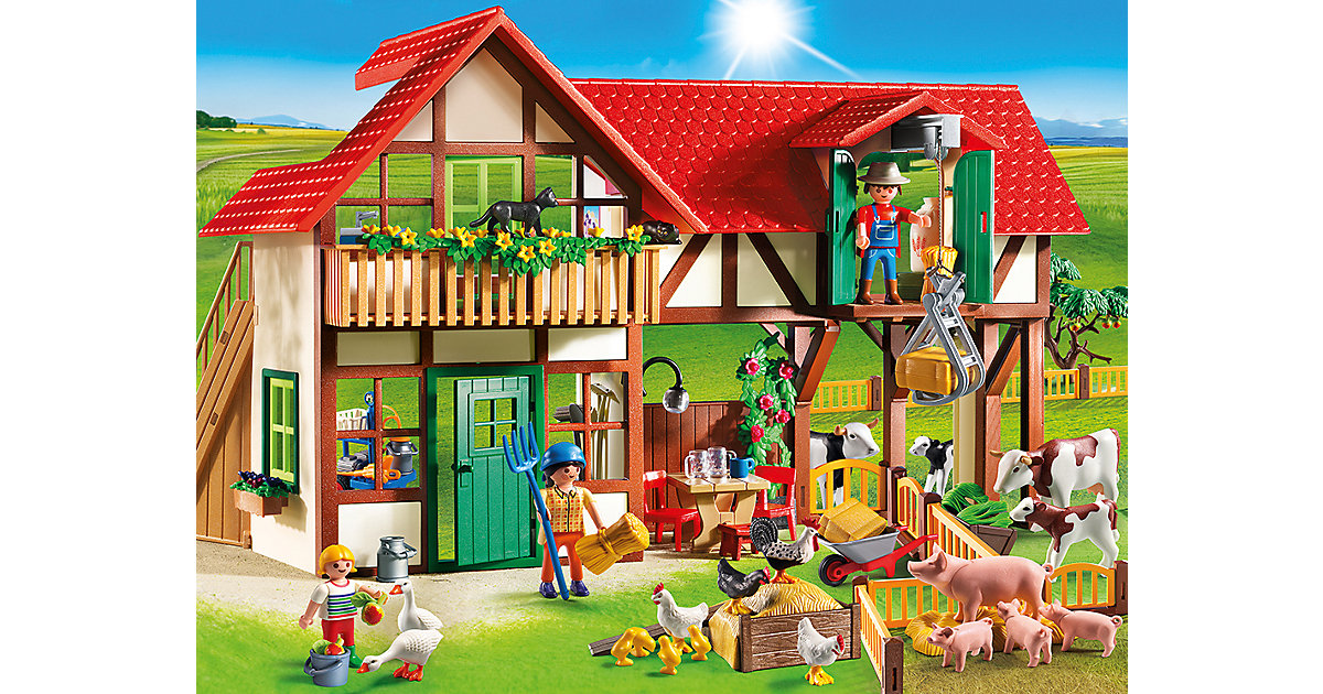PLAYMOBIL® 6120 Großer Bauernhof