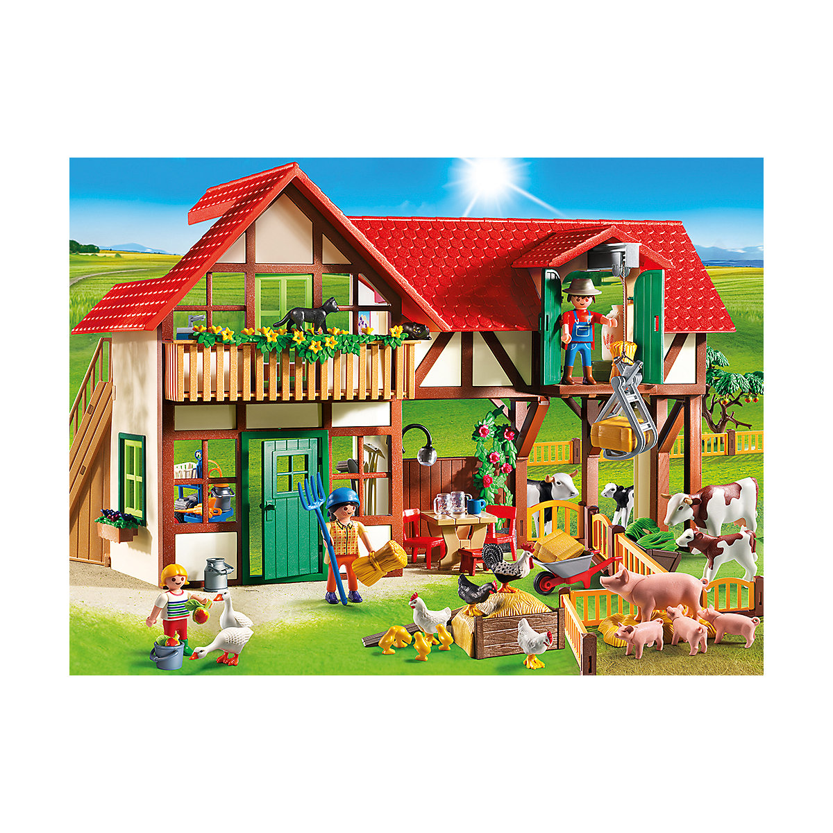 playmobil® 6120 großer bauernhof playmobil®  mytoys