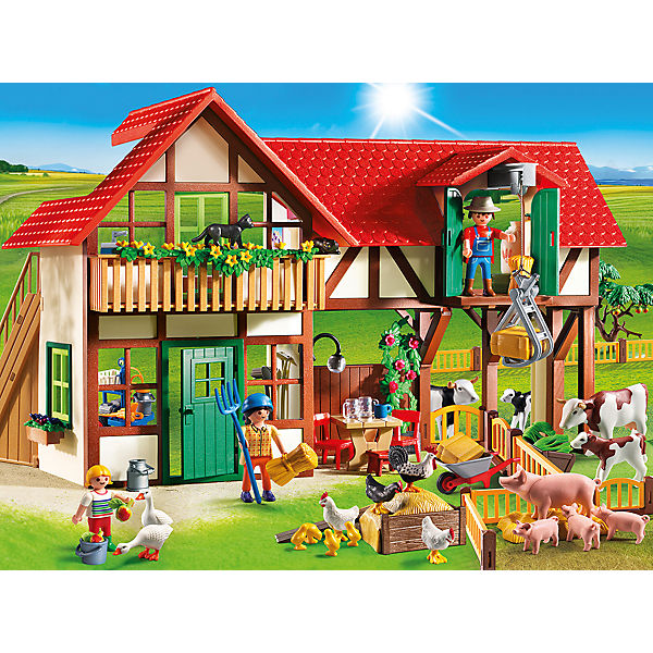 playmobil 6120 gro er bauernhof playmobil country mytoys. Black Bedroom Furniture Sets. Home Design Ideas