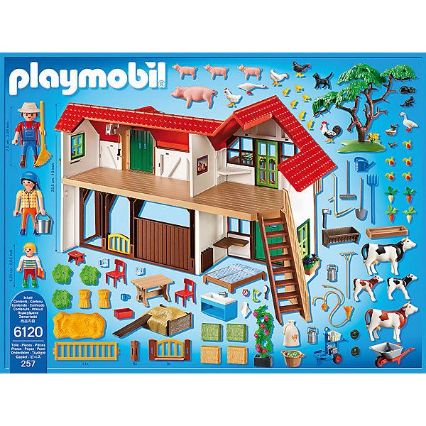 Playmobil 6120 Großer Bauernhof Playmobil Mytoys