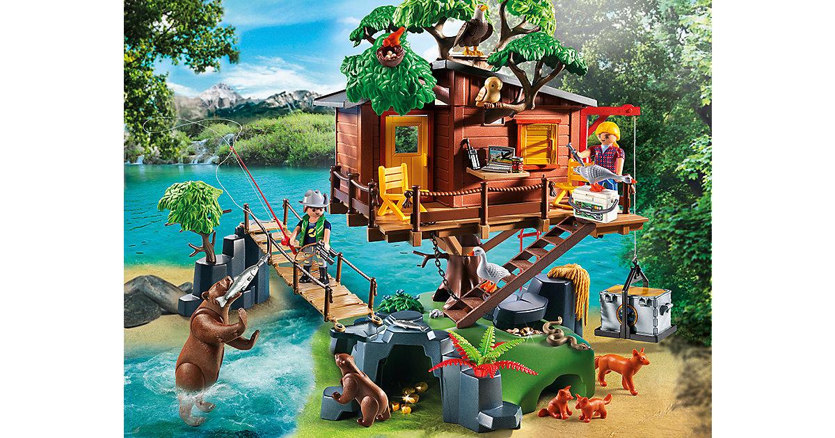 playmobil wild life abenteuer baumhaus 5557 preisvergleich abenteuer baumhaus g nstig kaufen. Black Bedroom Furniture Sets. Home Design Ideas