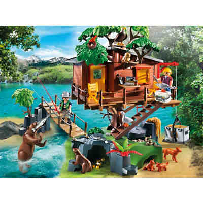 playmobil artikel playmobil abenteuer baumhaus g nstig kaufen mytoys. Black Bedroom Furniture Sets. Home Design Ideas