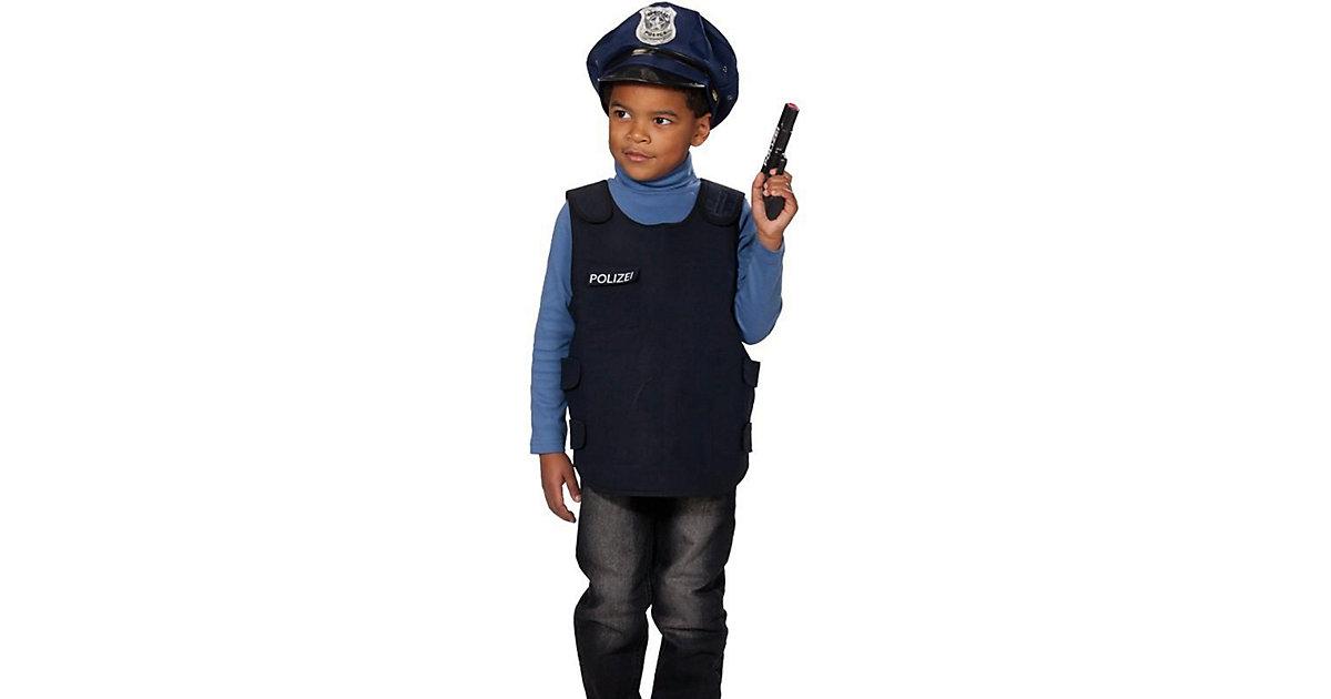 Polizei-Weste Gr. 116/128 Jungen Kinder