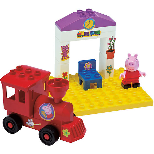 PlayBIG Bloxx - Peppa Wutz Bahnhaltestelle, Peppa Pig