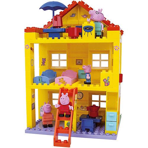 """Конструктор """"Любимый дом"""", Свинка Пеппа, 107 деталей от BIG"""