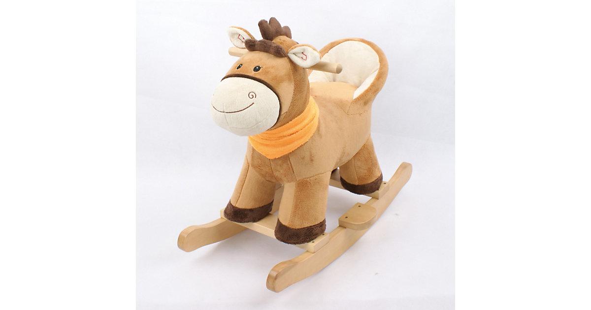 Knorr Toys · Schaukelpony mit Lehne Tom