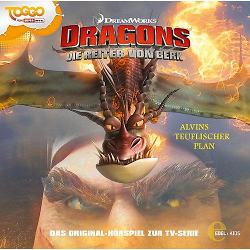 Dragons - Die Reiter Von Berk (5)Original Hsp Z.Tv-Serie-Alvins Teuflischer Plan (CD) - broschei