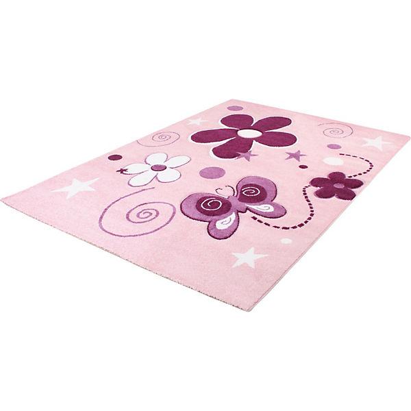 Kinderteppich schmetterling  Kinderteppich Schmetterling, pink | myToys
