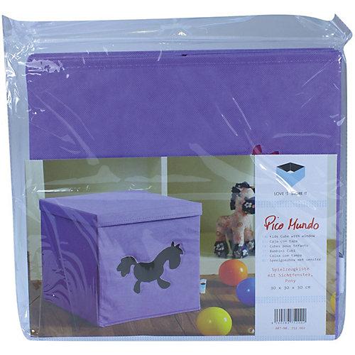 Коробка с крышкой для хранения Store it Пони - лиловый от STORE IT!
