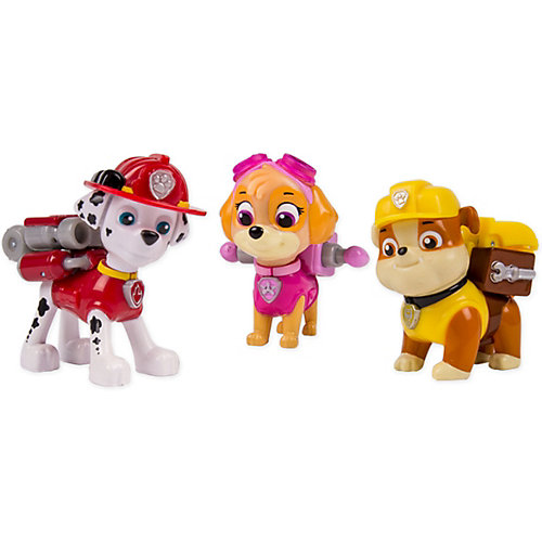Набор из 3 щенков с рюкзаком-трансформером, Щенячий патруль, Spin Master