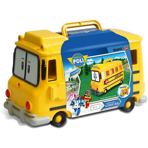Кейс для хранения машинок Скулби, Робокар Поли от Silverlit