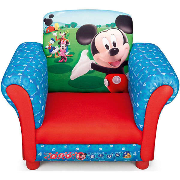 Kindersessel gepolstert mickey mouse disney mickey mouse friends mytoys - Wandsticker mickey mouse ...
