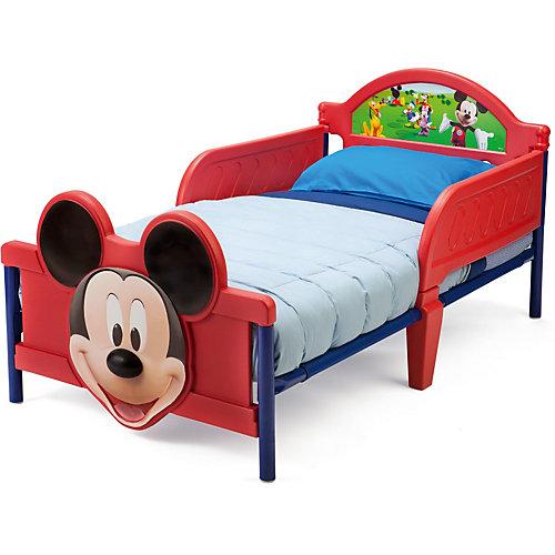 Delta Children Kinderbett Mickey Mouse, 70 x 140 cm