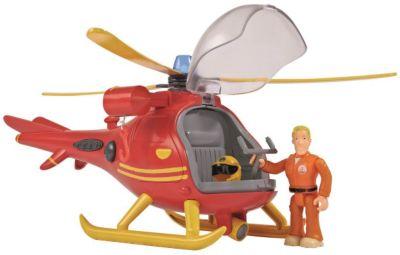 Kinderbett hubschrauber  Feuerwehrmann Sam Feuerwehr-Station mit Figur, Feuerwehrmann Sam ...
