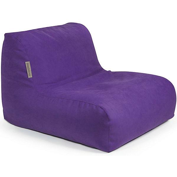 Sitzsack Chair Soft Lila Pushbag Mytoys
