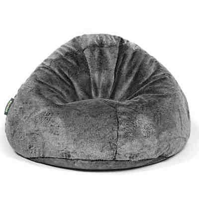 sitzsack bag 500 kunstfell fur schwarz pushbag mytoys. Black Bedroom Furniture Sets. Home Design Ideas